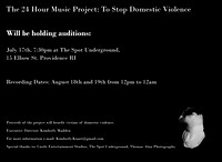 24 Hour Music Project Promos